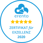 Zertifikat für Exzellenz 2020