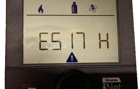Fehlercode E517 H bei der Truma Combi 6